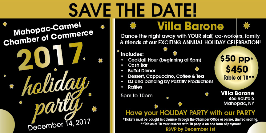 Mahopac Carmel Chamber of Commerce Holiday Party