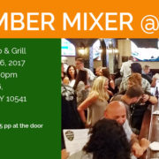 MAHOPAC CARMEL CHAMBER OF COMMERCE MIXER AT PATRICK'S PUB AND GRILL IN MAHOPAC