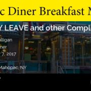 Olympic Diner Breakfast Meeting - Mahopac Carmel Chamber of Commerce