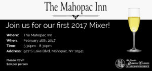 Chamber Mixer at The Mahopac Inn @ The Mahopac Inn