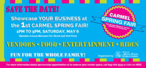 Carmel Spring Fair @ Gleneida Avenue between Fair Street & Vink Drive